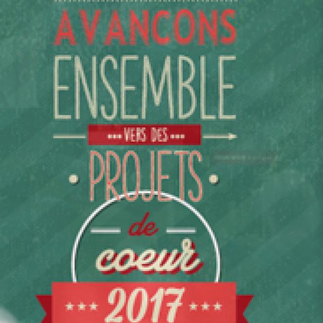 Ville d'Aucamville / Affiche des voeux